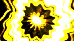 The image of yellow flowers background material