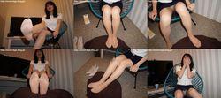 Street legs & socks snaps photo book & video Mio