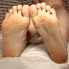【足裏】短めの指をM男が美味しくいただきました