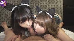 Blaming the two girls [more Imaging ¥ Kimo guy] asahinakhonoka [3] doublefera
