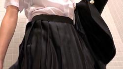 服装痴迷 (湿深蓝制服: 西装上衣和衬衫) 视频