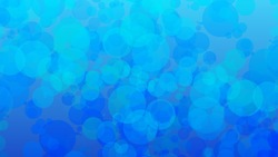 Background footages of blue bubbles